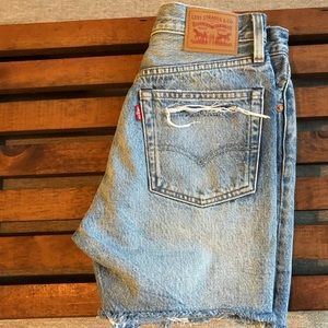 Levi Denim Shorts Bermuda